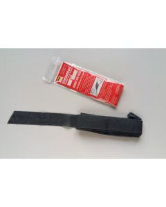 Vlieseline Blindsaumband, schwarz, 3cm breit, 5m