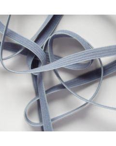Budgetpackung Gummiband in grau - 6mm breit, 5m