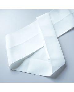 Extra breiter Falzgummi / Einfassgummi in weiss, 10cm breit