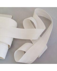 Antirutsch-Gummi, silikonbeschichtet, weiss, 4cm breit