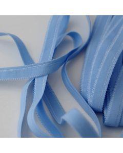 Weiches, dünnes Gummiband in altrosa für den Bund von Slips und Unterwäsche in 5m-Budgetpackung - 8mm breit