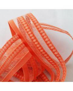 Gummiband, orange, 4 cm breit