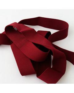 Budgetpackung Gummiband, dunkelrot, 3cm breit, 5m