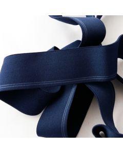 Budgetpackung Gummiband, dunkelblau, 3cm breit, 5m