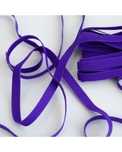 Gummiband in violett - 7mm breit für Unterwäsche und Bekleidung