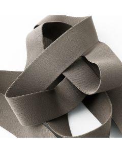 Starkes, weiches Unterhosen-Gummiband in uni taupe für den Bund von Unterhosen und Trainingshosen - 3cm breit.