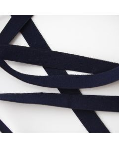 4mm breites Gummiband in dunkelblau