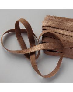 Budgetpackung Gummiband in hellbraun - weiche, feine Qualität mit leicht glänzender Oberfläche - 8mm breit.