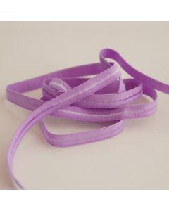Weiches, dünnes Gummiband in flieder (hellviolett) für den Bund von Slips und Unterwäsche in 5m-Budgetpackung - 8mm breit