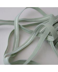 Weiches, dünnes Gummiband in patinagrün für den Bund von Slips und Unterwäsche in 5m-Budgetpackung - 8mm breit