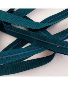 Antirutsch-Gummi, silikonbeschichtet, grünpetrol, 11mm breit