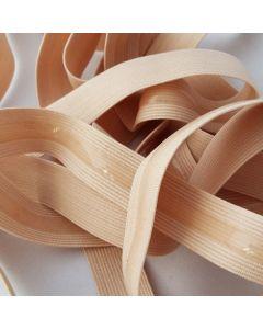 Antirutsch-Gummi, silikonbeschichtet, beige, 17mm breit