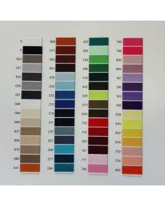 Farbkarte für Overlock-Nähgarn