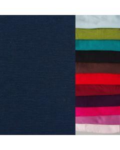 Uni Alpenfleece - Wintersweat Stoff in 15 Farben