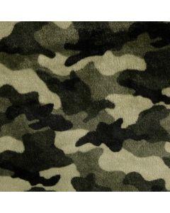 Camouflage Plüsch Stoff