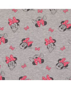 Sweat Stoff 'Minnie Mouse'