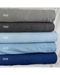 Schwerer, querelastischer Jeans Stoff - Maschenware in diversen Farben für hautenge Jeanshosen, Jeggings.