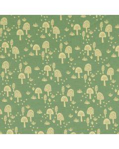 Jersey Stoff 'Fliegenpilz' mit Pilzmuster für Damenbekleidung (Tops, T-Shirts, Tunikas, Leggings), Kinderkleider oder Unterwäsche