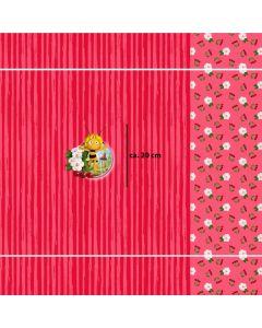 Jersey Stoff Panel 'Biene Maya' aus 95% Baumwolle und 5% Elastan für Kinderklamotten und Unterwäsche