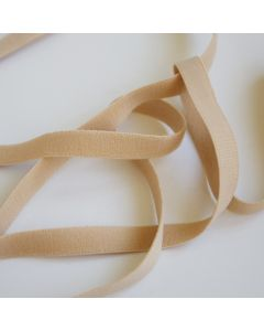 Weiches Unterbrustgummiband für BH - ohne Schmuckkante, mit einer flauschigen und einer gerippten Oberfläche - fürs BH-Nähen