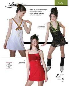 Eiskunstlaufkleid oder kurzes Kleid - Schnittmuster
