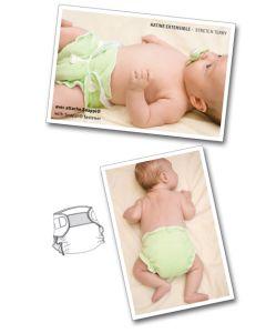 Windeln und Überhose für Babies - Schnittmuster