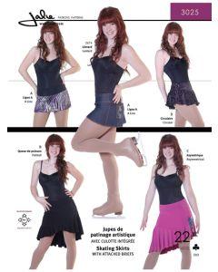 Tanzröcke - 4 Varianten