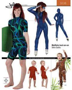 Ganzkörperanzug (Bodysuit) - Schnittmuster