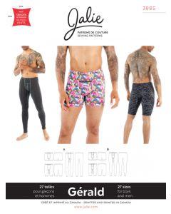 Männer-Unterhose / Badehose Schnittmuster