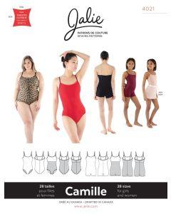 Body - Badeanzug Schnittmuster 'Camille' von Jalie