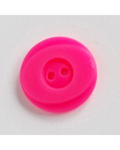 Knopf in neonpink fluoreszierend - 20mm