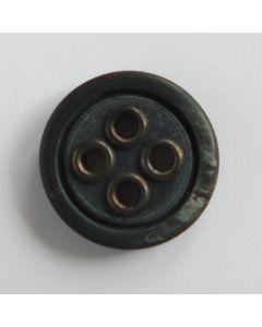 Knopf in anthrazit-schwarz - 20mm