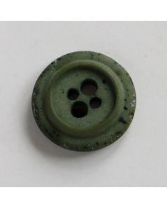 Knopf in jägergrün - 15mm