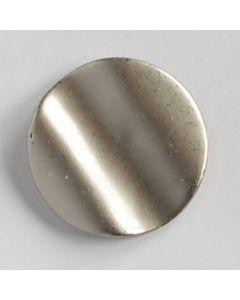 Moderner Metallknopf, 22mm