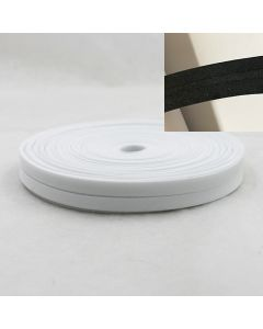 25m-Rolle Masken-Schrägband - Einfassband aus 100% Baumwolle - 20mm(schwarz oder weiss)