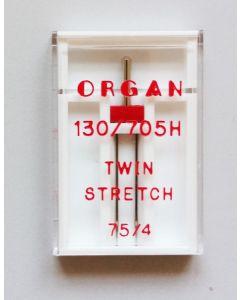 Stretch Zwillingsnadeln - 4mm breit - für elastische Stoffe