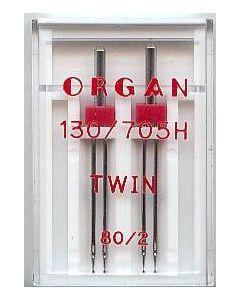 Zwillingsnadeln, Stärke: 80, Breite: 2mm, 2 Stk.