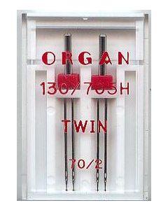 Zwillingsnadeln, Stärke: 70, Breite: 2mm, 2 Stk.