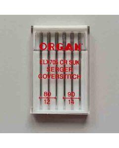 Coverlock Nadeln ELx705 SUK, Stärke 80-90