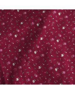Schöner, bielastischer Jersey Stoff, mit feinen Rosenmotiven - die Musterung ist sehr klein, der Stoff ist perfekt für dezente Damenbekleidung, unterwäsche, auch für Masken.