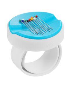 Baby Snap Magnetnadelkissen-Armband, blau