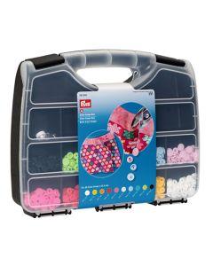 Prym Color Snaps Box - mit 300 Stk. Druckknöpfen