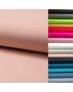 Elastischer uni Softshell Stoff in 15 Farben - wasserabweisende und winddichte Meterware für dünne Wind- und Regenjacken, wasserabweisende Leggings und Turnhosen