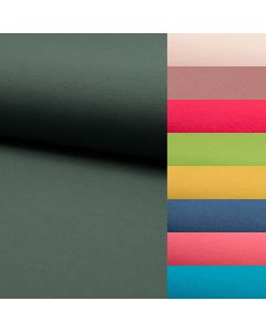 Hochwertiger Romanit Jersey Stoff - Punta di Roma Jersey Stoff in vielen uni Farben - Stoffzusammensetzung: 70% Viskose 27% Polyamid 3% Spandex - Stoffgewicht: 280 g/m2
