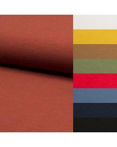 Leichter Viskose - Leinen Stoff (Webware, nicht elastisch) für luftige Sommerhosen, Sommerkleider und Blusen - Stoffzusammensetzung: 62% Viskose 38% Leinen