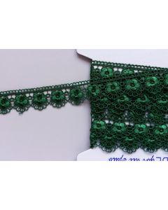 Guipure-Spitzenband, dunkelgrün (Col. 69)
