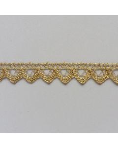 Spitzenband, 15mm breit, gold