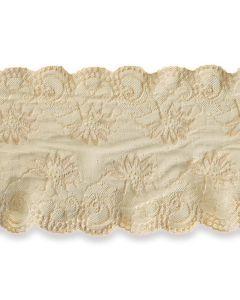 Spitzenband, hellbeige, 20cm breit
