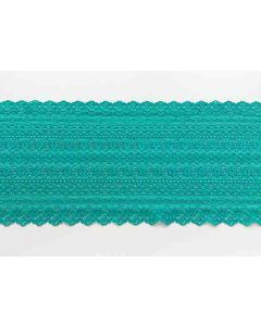 Spitzenband, Emerald, 17cm breit