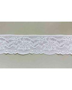 Spitzenband, weiss, 7cm breit